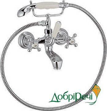Смеситель для ванны с душем Kludi Adlon 514410520
