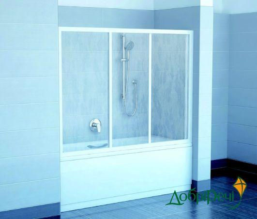 Двери для ванны Ravak AVDP3-170 40VV0102ZG белый+grape