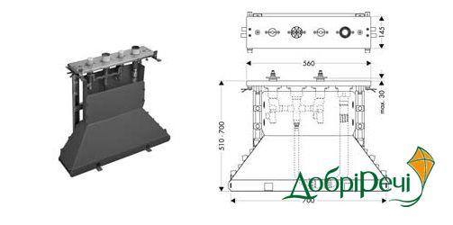 Скрытая часть смесителя Axor 14445180