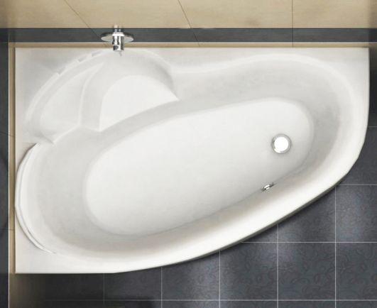 Акриловая асимметричная ванна Koller Pool Karina 170x110 L