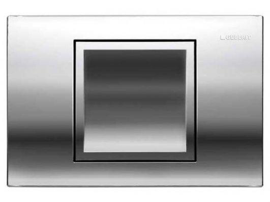 Кнопка для инсталляции Geberit Delta 40 115.130.21.1 глянцевый хром