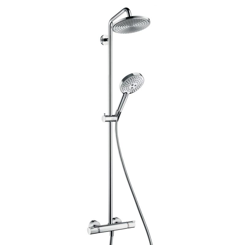 hansgrohe raindance select 240 showerpipe. Black Bedroom Furniture Sets. Home Design Ideas