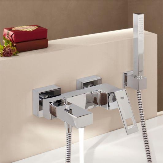 Смеситель для ванны с душем Grohe Eurocube 23141000