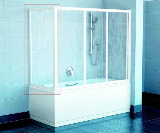 Ravak APSV-70 белый+Transparent 95010102Z1