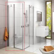 Душевые двери Ravak Chrome CRV2-100 1QVA0U00Z1 сатин+transparent