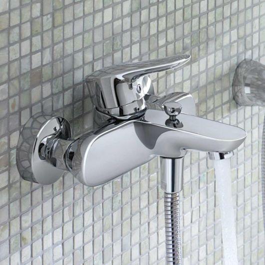 Смеситель Kludi Objekta 326530575 для ванны с душем варианты устройства ванной комнаты