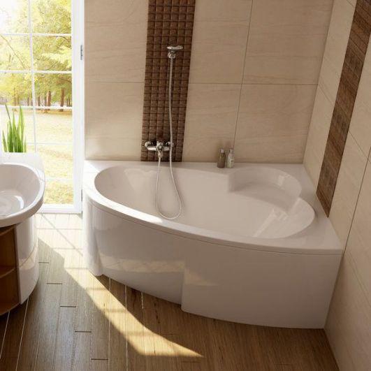 Акриловая асимметричная ванна Ravak Asymmetric 170x110 R C491000000