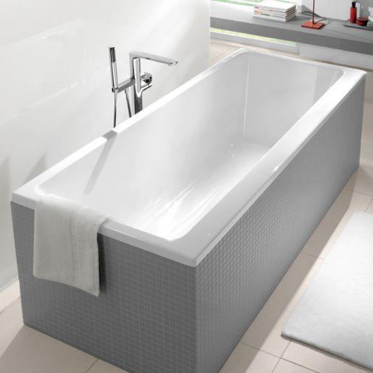 Акриловая прямоугольная ванна Villeroy & Boch Subway Duo 170Х75 UBA170SUB2V-01