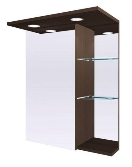 Зеркальный шкаф Fancy Marble ШЗ-8 Венге