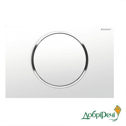 Кнопка для инсталляции Geberit Sigma 10 115.758.KJ.5 белый/глянцевый хром