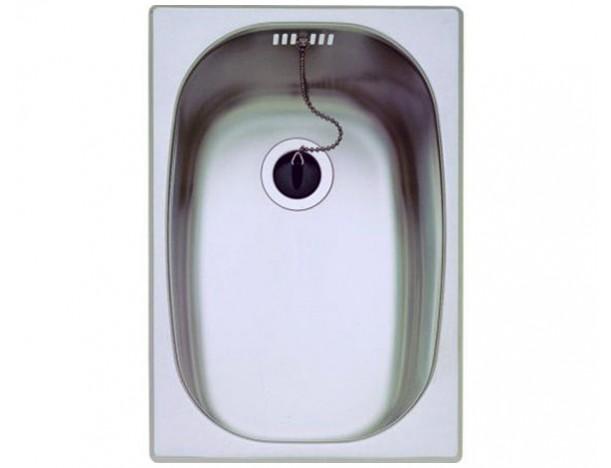 Кухонная мойка Teka E 1B 10132001 полированная