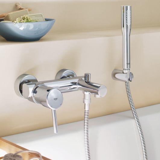 Смеситель для ванны с душем Grohe Concetto 32212001