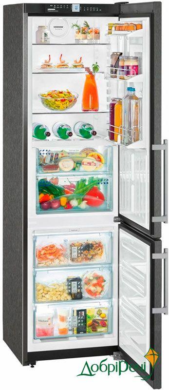 Двухкамерный холодильник Liebherr CBNPbs 3756