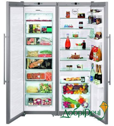 Холодильник Side-by-side Liebherr SBSesf 7212