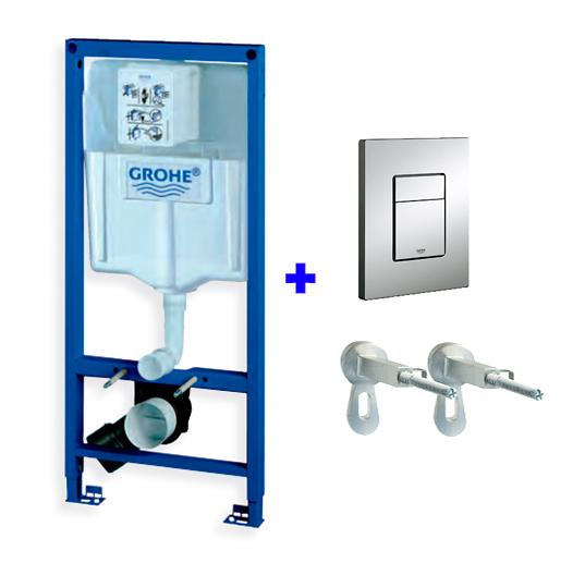 Инсталляция для унитаза Grohe Rapid SL 3 в 1 38772001