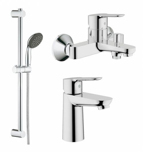 Комплект смесителей для ванны Grohe BauEdge 123265S