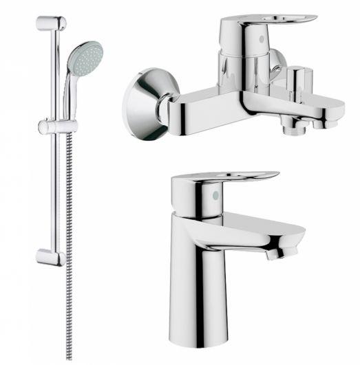 Комплект смесителей для ванны Grohe BauLoop 123214S