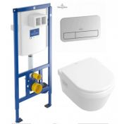 Villeroy & Boch ViConnect 92246100+Villeroy & Boch Omnia Architectura 5684H101+кнопка 92249061
