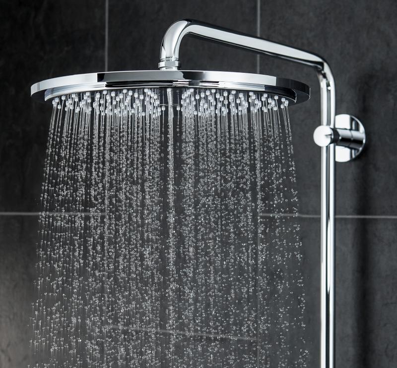 grohe rainshower system 310 27968000 grohe. Black Bedroom Furniture Sets. Home Design Ideas