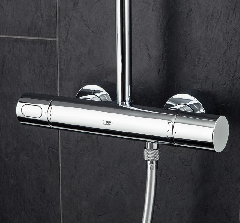 grohe rainshower system 310 27968000. Black Bedroom Furniture Sets. Home Design Ideas