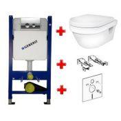 Geberit 458.161.21.1+Gustavsberg 5G84 Hygienic Flush