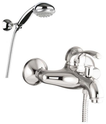 Смеситель для ванны с душем Fiore Jafar 47CR5100