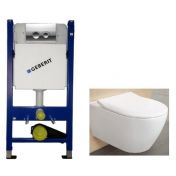 Geberit 458.121.21.1 4в1+Villeroy & Boch Subway 2.0+SoftClose SlimSeat