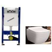 Geberit 458.121.21.1 4в1+Villeroy & Boch Venticello Direct Flush+SoftClose SlimSeat