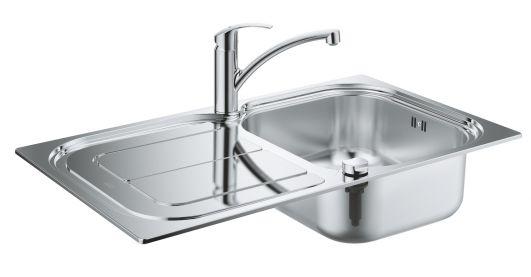 Кухонная мойка со смесителем Grohe Eurosmart K300 31565SD0
