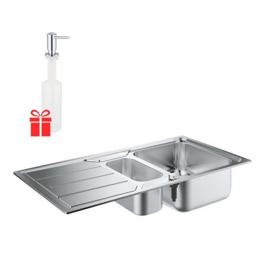Кухонная мойка Grohe K500 31572SD0 + в подарок дозатор Grohe EX Contemporary 40536000
