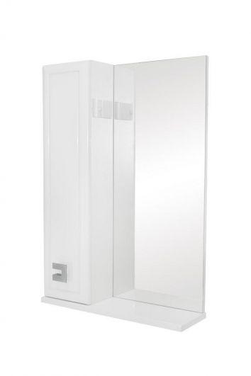 Зеркальный шкаф Аква Родос Мобис 55