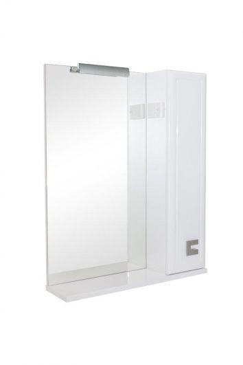 Зеркальный шкаф Аква Родос Мобис 65