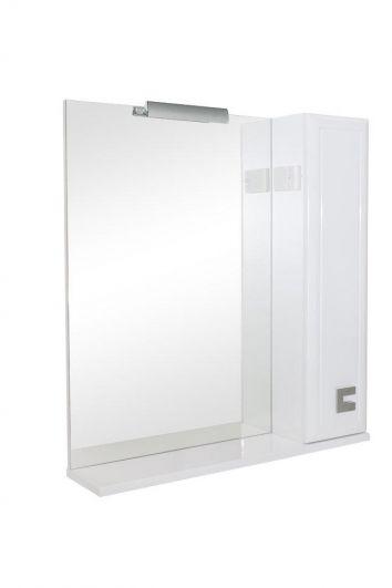 Зеркальный шкаф Аква Родос Мобис 70