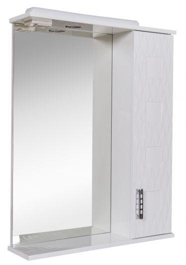 Зеркальный шкафчик Аква Родос Ассоль 65 R