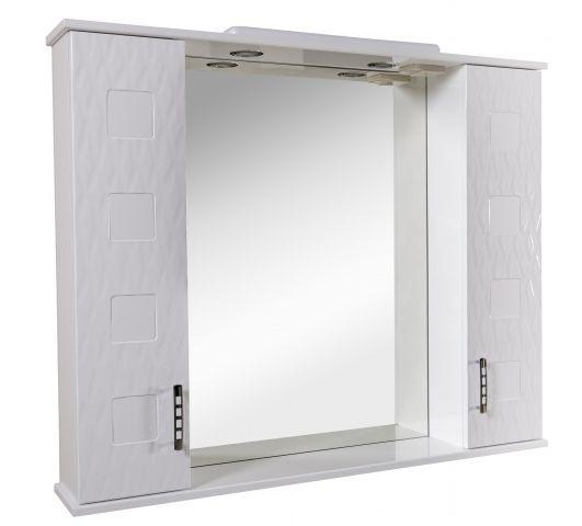 Зеркальный шкафчик Аква Родос Ассоль 100