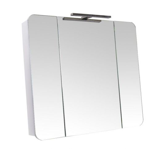 Зеркальный шкафчик Аква Родос Рома 85