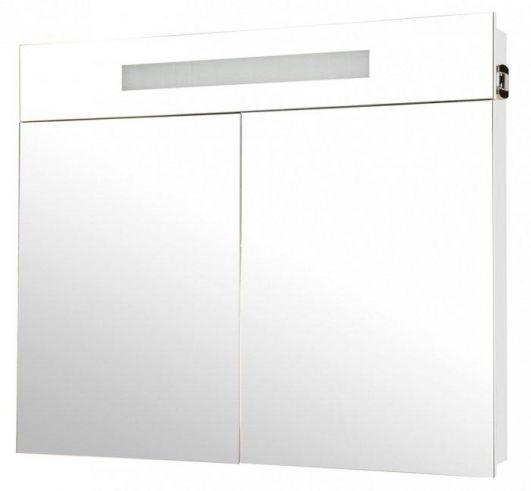 Зеркальный шкафчик Аква Родос Ника 95