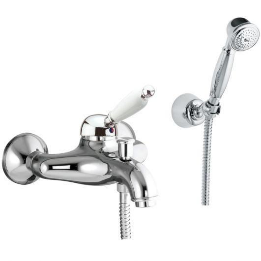 Смеситель для ванны с душем Fiore Imperial 83CR5103 с душевым гарнитуром