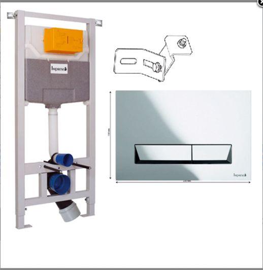 Инсталляция для унитаза Imprese i8120 3в1