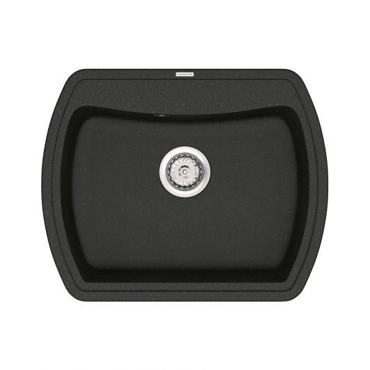 Кухонная мойка VANKOR Norton NMP 01.63 Black