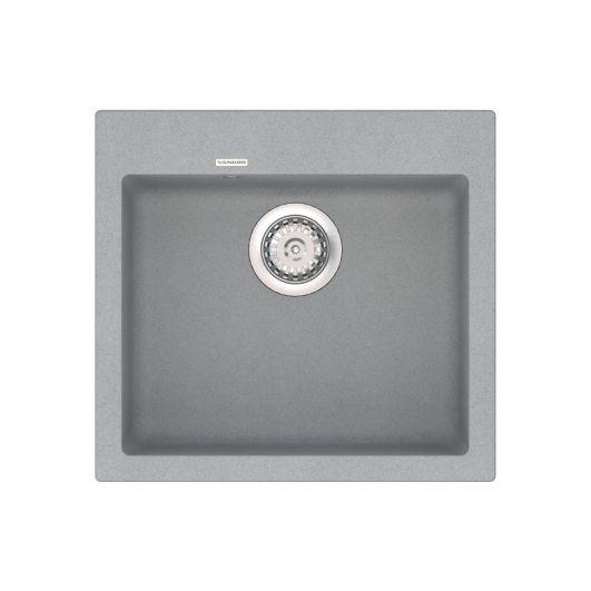 Кухонная мойка VANKOR Orman OMP 01.49 Gray stone