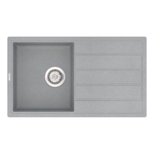 Кухонная мойка VANKOR Easy EMP 02.76 Gray stone