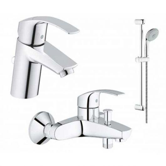 Комплект смесителей для ванны Grohe Eurosmart 123238