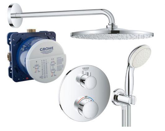 Душевая система Grohe Grohtherm SmartControl 26406SC0
