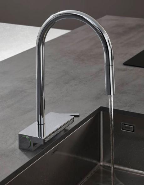Змішувач кухонний Hansgrohe Aquno Select M81 3jet 73831000