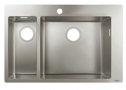 Кухонна мийка Hansgrohe S711-F655 43309800