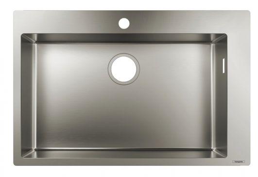Кухонна мийка Hansgrohe S711-F660 43302800