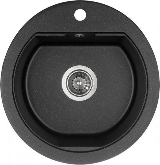 Кухонна мийка GRANADO Lugo Black Shine 2801