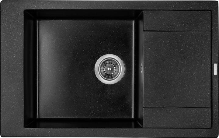 Кухонна мийка Granado Almeria Black Shine 3101