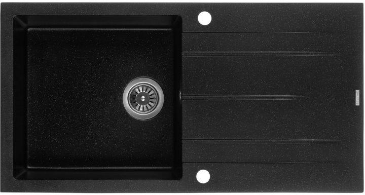 Кухонна мийка Granado Mora Black shine 2601